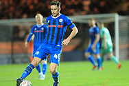 Ian Henderson during the The FA Cup 1st round match between Rochdale and Gateshead at Spotland, Rochdale, England on 10 November 2018.