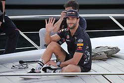 Daniel Ricciardo arrives to the Tag Heuer 'Under pressure Award' during the 75th Monaco Gran Prix, Monaco on May 27th, 2017. Photo by Marco Piovanotto/Abacapress.com