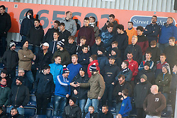 South stand. Falkirk 1 v 1 Morton, Scottish Championship game played 5/11/2016 at The Falkirk Stadium. Pic Ross Schofield.