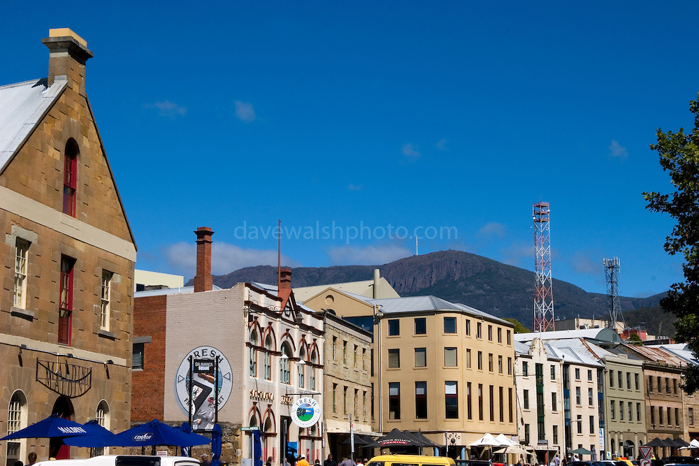 """Salamanca, Hobart, Tasmania. Now an area of trendy bars and cafes, it was named after the victory in 1812 of the Duke of Wellington in the Battle of Salamanca in the Spanish province of Salamanca. It was previously called """"The Cottage Green"""".....Each Saturday, Salamanca Place is the site for Salamanca Market which is popular with tourists and locals...(wikipedia).."""