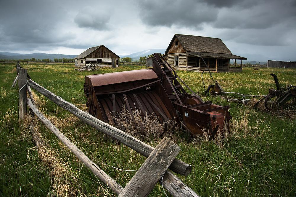 Mormon Row, Wyoming