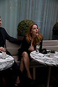 GILLIAN ANDERSON, ESQUIRE Editor Jeremy Langmead hosts a Salon/ dinner in honour of Casey Affleck. SUKA at Sanderson Hotel, 15 Berners Street, London. 28 May 2008 *** Local Caption *** -DO NOT ARCHIVE-© Copyright Photograph by Dafydd Jones. 248 Clapham Rd. London SW9 0PZ. Tel 0207 820 0771. www.dafjones.com.