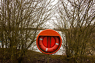 No Entry. Romsey Beach. Cambridge, UK
