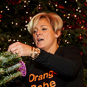 NLD/Hilversum/20141209 - Sky Radio Christmas Tree for Charity 2014, Caroline Tensen