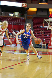 25 November 2007: Allie Quigley. The DePaul Blue Demons defeated the Illinois State Redbirds 80-75 on Doug Collins Court at Redbird Arena in Normal Illinois
