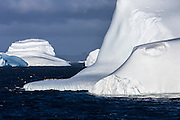 A group of Chinstrap penguins on a majestic iceberg, South Orkney Islands, Scotia Sea, South Atlantic Ocean
