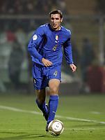 Modena 21/10/2007 Euro2008 Qualifying round - group B. qualificazioni Euro2008<br /> <br /> Italia Far Oer Italy Far Oer 3-1<br /> <br /> Giorgio Chiellini Italia<br /> <br /> Foto Andrea Staccioli Insidefoto