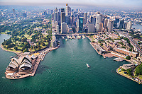 Sydney Cove featuring Opera House & The Rocks