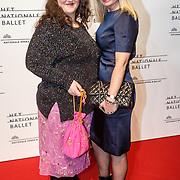 NLD/Amsterdam/20160206 - Premiere balletvorstelling Mata Hari, Hilmar Mulder en .....