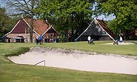 WINTERSWIJK -  Hole 18 met clubhuis, Scholten Boerderij. Golf & Country Club Winterswijk, golfbaan De Voortwisch.     COPYRIGHT  KOEN SUYK