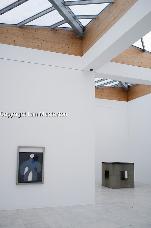 Art in the Museum Hombroich at Neuss in Germany