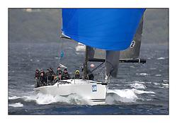 Brewin Dolphin Scottish Series 2011, Tarbert Loch Fyne - Yachting - Day 3 of the 4 day series. Windier!..GBR5940R Tokoloshe, Michael Bartholomew, Royal Cape YC, King 40.
