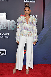 Eve attends the 2018 iHeartRadio Music Awards at the Forum on March 11, 2018 in Inglewood, California. Photo by Lionel Hahn/AbacaPress.com