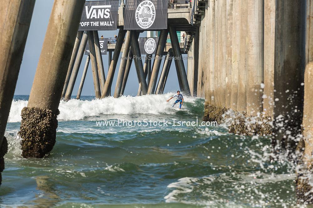 US open Surfing at Huntington Beach, California, July 27 2016