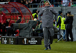 KAZAN, RUSSIA - Thursday, November 5, 2015: Liverpool's manager Jürgen Klopp during the UEFA Europa League Group Stage Group B match against FC Rubin Kazan at the Kazan Arena. (Pic by Oleg Nikishin/Propaganda)