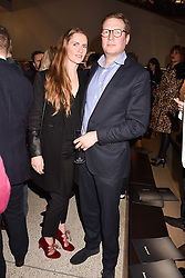 Ed Grant and Chloe Delevingne-Grant at the Range Rover Velar Global Reveal at The Design Museum, London England. 1 March 2017.