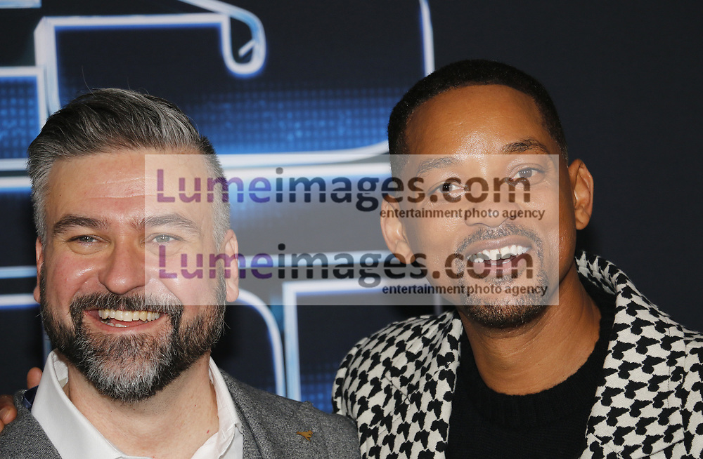 Troy Quane and Will Smith at the Los Angeles premiere of 'Spies In Disguise' held at the El Capitan Theatre in Hollywood, USA on December 4, 2019.
