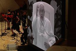 May 6, 2017 - Vatican City State (Holy See) - POPE FRANCIS during the audience to ''Coordinamento Nazionale Enti locali per la pace e i diritti umani'' in Paolo VI hall at the Vatican  (Credit Image: © Evandro Inetti via ZUMA Wire)