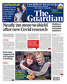 February 17, 2021 (UK): Front-page: Today's Newspapers In United Kingdom