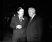 20/04/1970<br /> 04/20/1970<br /> 20 April 1970<br /> Tynagh Mines Dinner Dance at Loughrea, Co. Galway. Dave Fitzgerald (left) Manager, Tynagh and Al Lowe, Director Northgate.