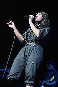 Jasmine Sullivan at Maxwell Concert at Radio City Music Hall on October 9, 2008