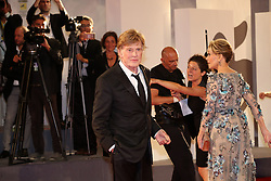 Jane Fonda and Robert Redford walk the red carpet ahead of the 'Our Souls At Night' screening during the 74th Venice Film Festival at Sala Grande. 01 Sep 2017 Pictured: Jane Fonda, Robert Redford. Photo credit: MEGA TheMegaAgency.com +1 888 505 6342