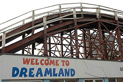 "©  licensed to London News Pictures. .Margate, UK.(stock pictures from 1998).03/05/2011.Tough measures have been taken to secure the future of the Dreamland fun park project, which is widely regarded as essential to the regeneration of Margate..Thanet council cabinet has invoked compulsory purchase proceedings against landowners Margate Town Centre Regeneration Company..Council chief executive Richard Samuel said: ""We are determined to continue the regeneration of Margate. Please see special instructions..Picture credit should read Grant Falvey/LNP......"