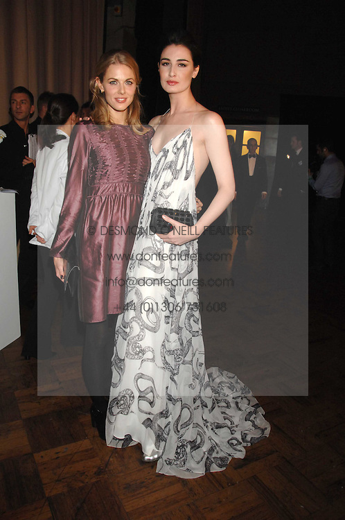Left to right, DONNA AIR and ERIN O'CONNOR at the British Fashion Awards 2007 held at the Royal Horticultural Halls, Vincent Square, London on 28th November 2007.<br /><br />NON EXCLUSIVE - WORLD RIGHTS