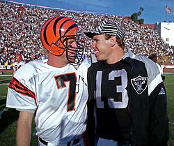 Boomer Esiason and Jay Schroeder, 1991