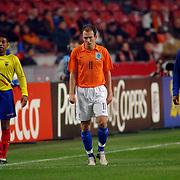 NLD/Amsterdam/20060301 - Voetbal, oefenwedstrijd Nederland - Ecuador, Arjen Robben