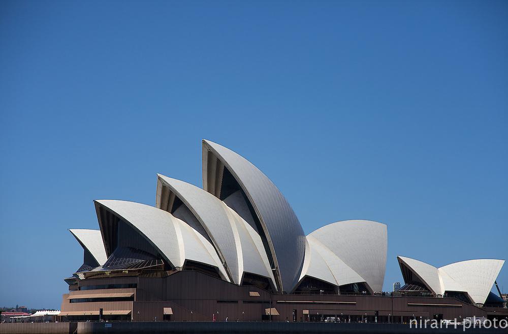 External Facade of the Sydney Opera House