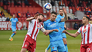 Cheltenham Town's Sean Long during the EFL Sky Bet League 2 match between Stevenage and Cheltenham Town at the Lamex Stadium, Stevenage, England on 20 April 2021.