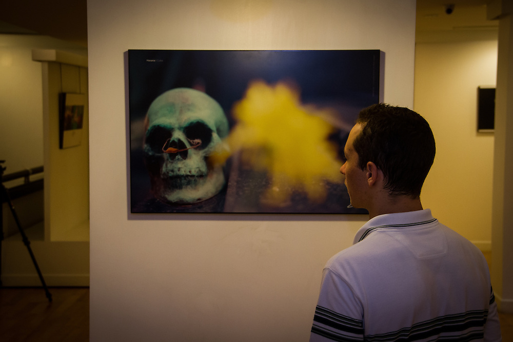 """Event photography of a gallery opening in Bangkok called """"Innosence- A journey of love"""""""