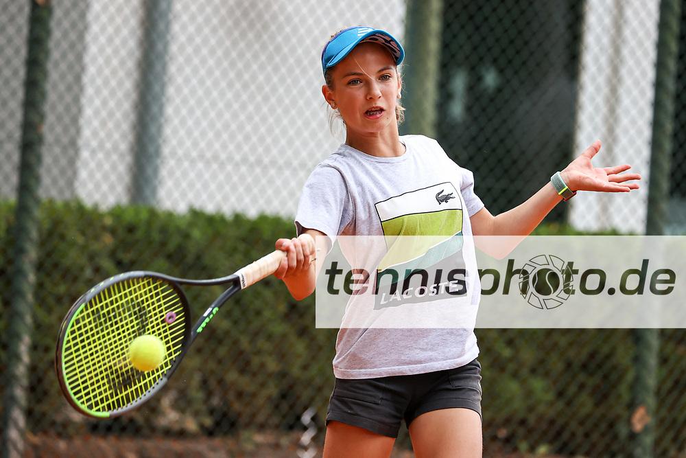 Andra Braicu (Grunewald Tennis-Club), 6. Internationale Spandauer Jugendmeisterschaften 2020, Berlin, Siemens TK Blau-Gold 1913, 04.08.2020, Foto: Claudio Gärtner