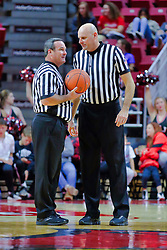 NORMAL, IL - November 03: Tom O'Neill Jr., Scott Tierney  during a college basketball game between the ISU Redbirds  and the Augustana Vikings on November 03 2018 at Redbird Arena in Normal, IL. (Photo by Alan Look)