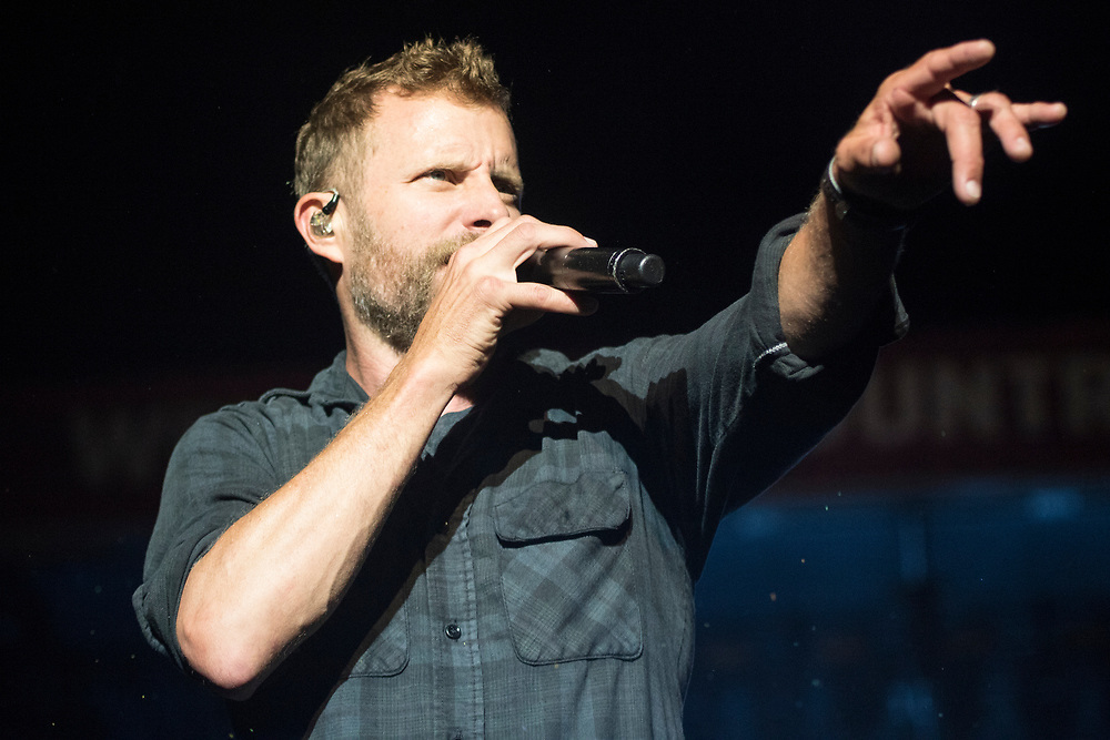 Dierks Bentley performs at Country Thunder in Twin Lakes, WI on July 20, 2018.