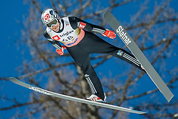 Robert Johansson of Norway during the Ski Flying Hill Individual Qualification at Day 1 of FIS Ski Jumping World Cup Final 2018, on March 22, 2018 in Planica, Slovenia. Photo by Ziga Zupan / Sportida
