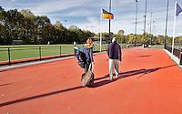 DEN BOSCH - Het geheel vernieuwde complex van Hockeyclub Den Bosch. COPYRIGHT KOEN SUYK