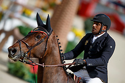Al Kumaiti Mohammed, UAE, Newton Abbot<br /> CSIO Barcelona 2017<br /> © Hippo Foto - Dirk Caremans<br /> 29/09/2017