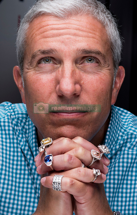 Mark Schechter, owner of Ideal Luxury in Tustin, CA owns a concierge jewelry business that buys, sells and loans diamonds, watches and jewelry. Schechter estimates that he would price the jewelry he's wearing at about $2 million. If it was sold at a high end jewelry story - up to $5 million. MANDATORY PHOTO CREDIT  >  (Photo by Leonard Ortiz, Orange County Register/SCNG)