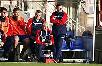 Fotball , 28. april 2011 , U19 , WC. qual.<br /> Norge - Moldova<br /> Norway -Moldova 4-0<br /> <br /> trener Serghei Clescenco , Moldova