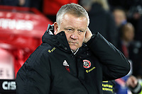 Sheffield United manager Chris Wilder<br /> <br /> Photographer Rich Linley/CameraSport<br /> <br /> The Premier League - Sheffield United v Manchester City - Tuesday 21st January 2020 - Bramall Lane - Sheffield<br /> <br /> World Copyright © 2020 CameraSport. All rights reserved. 43 Linden Ave. Countesthorpe. Leicester. England. LE8 5PG - Tel: +44 (0) 116 277 4147 - admin@camerasport.com - www.camerasport.com