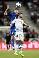 Nice (Francia) 07-06-2017 Stadio Allianz Riviera Friendly match Italia - Uruguay / Italy - Uruguay foto Image Sport/Insidefoto<br /> nella foto: Matteo Darmian-Alvaro Gonzales