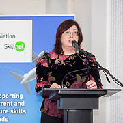 24.05.2018.       <br /> The Limerick Institute of Technology with Atlantic Air Adventures and funding from the Aviation Skillnet presented over forty certificates to Aviation professionals who have completed the Certificate in Aviation, The Aircraft Records Technician Level 7 and Part 21 Design, Level 7.<br /> <br /> Pictured at the event were, Marian Duggan, Dean of Flexible Learning, LIT.<br /> <br /> LIT in partnership with Atlantic Air Adventures, CAE Parc Aviation, Part 21 Design and industry experts such as Anton Tams, GECAS, Don Salmon, CAE Parc Aviation and Mick Malone, Part 21 Design have developed and deliver these key training programmes with funding for aviation companies provided by The Aviation Skillnet.<br /> <br /> . Picture: Alan Place