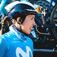 Gloria Rodríguez. 2021 Movistar Team Training Camp, Almería. 10.1.2021.