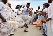 Nigerian locals at tribal gathering cultural event at Maiduguri in Nigeria, West Africa