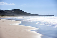 A beach to the entrance to the Great Ocean road