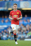 Adnan Januzaj of Manchester United  in action.  Barclays Premier league match, Chelsea v Manchester Utd at Stamford Bridge Stadium in London on Saturday 18th April 2015.<br /> pic by John Patrick Fletcher, Andrew Orchard sports photography.