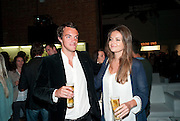 VISCOUNT ERLEIGH; LADY NATASHA RUFUS-ISAACS, The launch of the Peroni Nastro Azzurro Accademia del Film Wrap Party Tour. Brick Lane. 25 August 2010. -DO NOT ARCHIVE-© Copyright Photograph by Dafydd Jones. 248 Clapham Rd. London SW9 0PZ. Tel 0207 820 0771. www.dafjones.com.