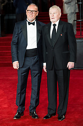 © Licensed to London News Pictures. 02/11/2017. London, UK. RICHARD CLIFFORD and DEREK JACOBI attends the world film premiere of Murder On The Orient Express. Photo credit: Ray Tang/LNP